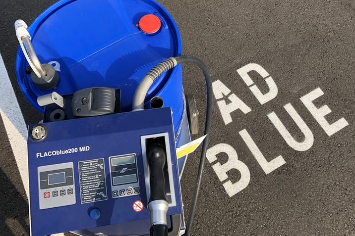 AdBlue-Bedientankstelle